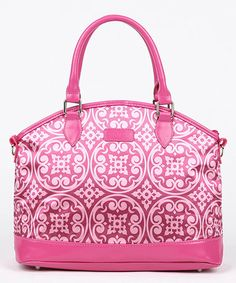 Sachi Pink Medallion Insulated Lunch Tote | zulily