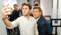 Niall Horan at the late late show with James cordon For more follow @sharayupatissp