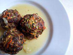 Paleo Meatballs with Onion Gravy