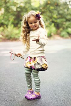 This is gonna be how our lil girl is. All cute with a slingshot in her hand!