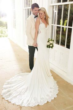 See photos of Martina Liana's Spring 2016 wedding dress collection.