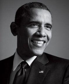 Image result for barack obama black and white photo