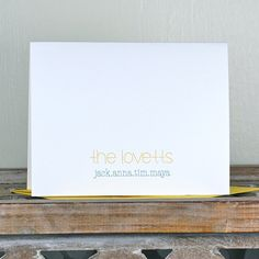 Personalized Note Cards  Personalized by SweetBellaStationery, $18.00