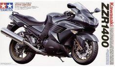 Tamiya - 14111 - Maquette de motos / model motorcycles - Kawasaki ZZR1400 - 1/12