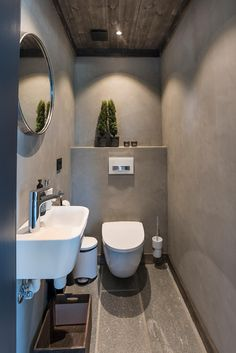 Gäste Wc Einrichten gäste wc mit deckenbeleuchtung im ländlichen stil einrichten
