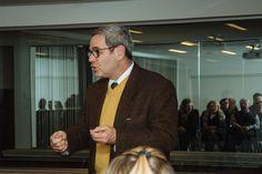 Charles London, presidente da Kehilá do Paraná falou na solenidade de lançamento da campanha em nome da Comunidade Israelita de Curitiba.