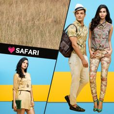 Just in! Launching our new category 'SAFARI' to give an earthy twist to your summer look! #Splash #Fashion #SplashIndia #Safari #SpringSummer