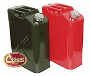 5 Gallon Jerry Cans (Green and Red)
