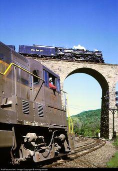 NKP 759 Nickel Plate Road Steam 2-8-4 at Lanesboro, Pennsylvania by miningcamper