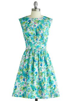 My current beloved frock, by my all time fav dressmakers, Emily and Fin.