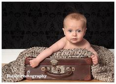 3 Month Old Baby Boy Photography - Baby by Fuller Photography
