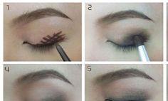 Dymová viečka | make-up Mania