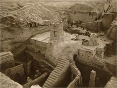 Nippur, circa 1899, the principal center of scribal training in the Old Babylonian period, where tablets were excavated.