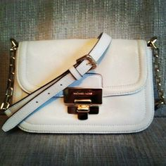 Love this schoulder bag by Michael Kors.