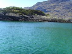 On the boat over to the Cuillin Mountain range on Skye