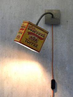 TheTinCanLight – unieke lampen van blik, ook op bestelling