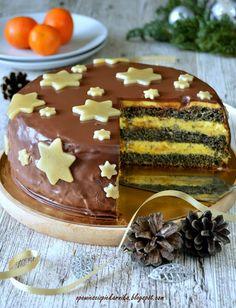Opowieści z piekarnika: Makowce i ciasta z makiem Cake & Co, Pastry Cake, Pastry Recipes, Gingerbread Cookies, Pudding, Baking, Easter Food, Europe, Cakes