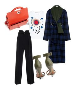 """Random mix and match"" by irini-stam on Polyvore featuring RED Valentino, SUNO New York, Givenchy and Carven"