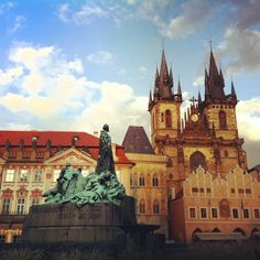 """See 97 photos and 11 tips from 1107 visitors to Pomník mistra Jana Husa. """"Fine square, plenty of sightseings, also there is fine restaurant """"u husa"""". Jan Hus, Holy Roman Empire, Renaissance Era, Old Town Square, Roman Emperor, Romanesque, Czech Republic, Barcelona Cathedral, Architecture"""