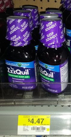 ZzzQuil Product Just $3.47 at Walmart!