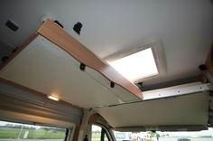 Lit pavillon extensible camping car