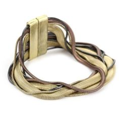 Kenneth Cole New York Mixed Snake Chain Bracelet
