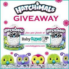 We know parents are desperate to get their hands on a Hatchimal, so we decided to give one lucky winner one just in time for Christmas.