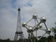 Mini Europe and Atomium in Brussels