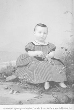 Anne's greatgrandmother as child