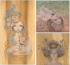 Audrey Kawasaki  Beautiful!