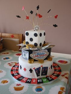 wedding cakes las vegas classic las vegas themed wedding cake www gimmesomesugarlv 8899