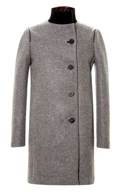Fashion Month Must: Wool Blend Military Style Coat by Prabal ...