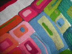 Contemporary Needlepoint | Modern Needlepoint | Needlepoint/cross-stitch and knitting obsession ...