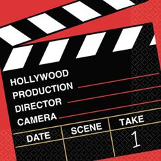 Director's Cut Luncheon Paper Napkins, Set of 36