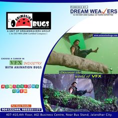 Visual Effects (VFX) are the processes by which imagery is created or manipulated outside the context of a live action shot. Learn Visual Effects and make your future successful. Come and join the Best VFX Institute in Jalandhar i.e. Animation Bugs which provides you the best training of visual effects. There are so many things to know about VFX which you learn from the Animation Bugs. We have best infrastructure and professional faculty.