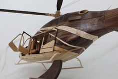 1/8 Scale Bell 429 Helicopter - by Ryan Haasen @ LumberJocks.com ~ woodworking community