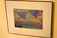 How to Make Sky and Clouds in Chalk Pastels - Hodgepodge Pastel Clouds, Sky And Clouds, Pastel Art, Dust Storm, 5th Grade Art, Chalk Pastels, Art Music, Art Lessons, Art Projects