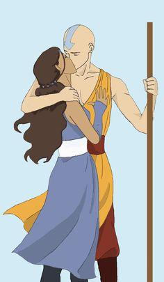 Read Aang and Katara from the story Bloog Cannon Aang: La leyenda del Avatar.