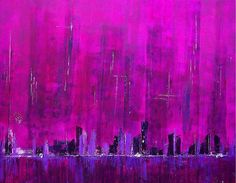 Purple Haze 100 x 73 cm Acrylic & mixed media with silver leaf On canvas FOR SALE Like this:Like Loading...