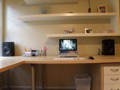 画像 : 【画像】オシャレなホームオフィスを集めてみた。 - NAVER まとめ