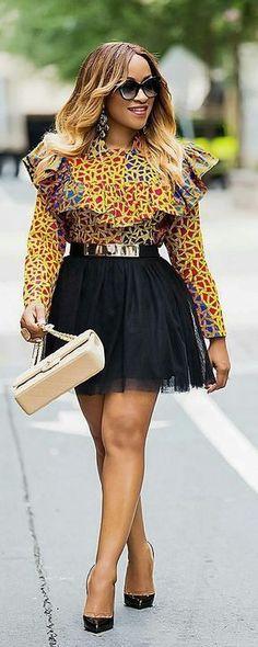 Beautiful African print top, African fashion, Ankara, kitenge, African women dresses, African prints, African men's fashion, Nigerian style, Ghanaian fashion, ntoma, kente styles, African fashion dresses, aso ebi styles, gele, duku, khanga, vêtements africains pour les femmes, krobo beads, xhosa fashion, agbada, west african kaftan, African wear, fashion dresses, asoebi style, african wear for men, mtindo, robes de mode africaine.
