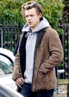 Harry leaving a studio in North London - March 4th,2017