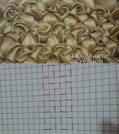 36 Ideas Origami Fashion Fabric Manipulation Pattern For 2019 36 Ideas Origami Fashion Fabric Manipulation Pattern For 2019 Techniques Textiles, Fabric Manipulation Techniques, Techniques Couture, Sewing Techniques, Fabric Manipulation Tutorial, Smocking Tutorial, Smocking Patterns, Sewing Patterns, Smocking Plates