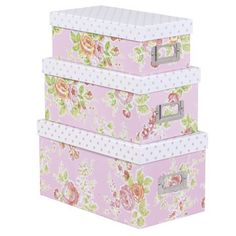 Tilly storage boxes, Bombay Duck