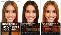 3 fun apps to experiment with your hair colour