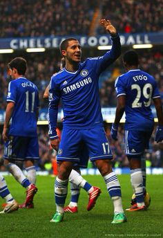 Chelsea FC Eden Hazard December 2013  Pined By Bassam Abdulkarim housawi