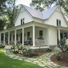 Farmhouse with a Forked Path | Content in a Cottage