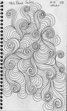 Luann kessi: sketch bookswirl designs doodles n stuff Tangle Doodle, Tangle Art, Doodle Art, Doodle Patterns, Zentangle Patterns, Quilt Patterns, Mandala Art, Zentangle Drawings, Zentangles