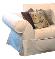 Custom Made Slipcovers, Slipcovers for Sofas, Couches and Armchairs, Slipcovers for sectionals and chaise, Slipcovers for Dining Chairs