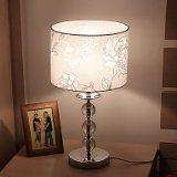 Makenier uk- Moderne minimalistische Mode Kristall Lampe Schlafzimmer Bedside Kreative Wohnzimmer Tischlampe mit dimmbaren